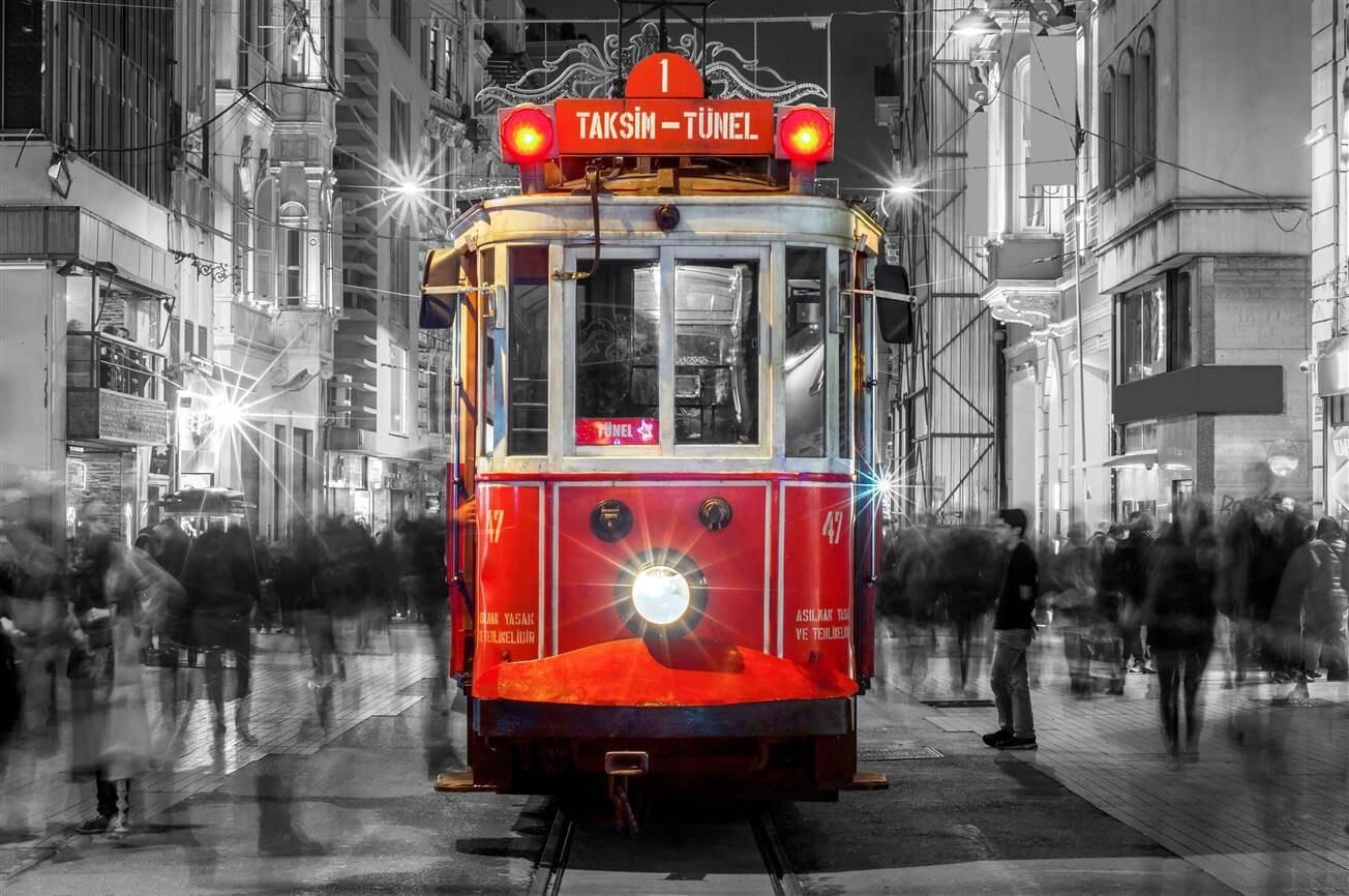 Taksim Train Istanbul