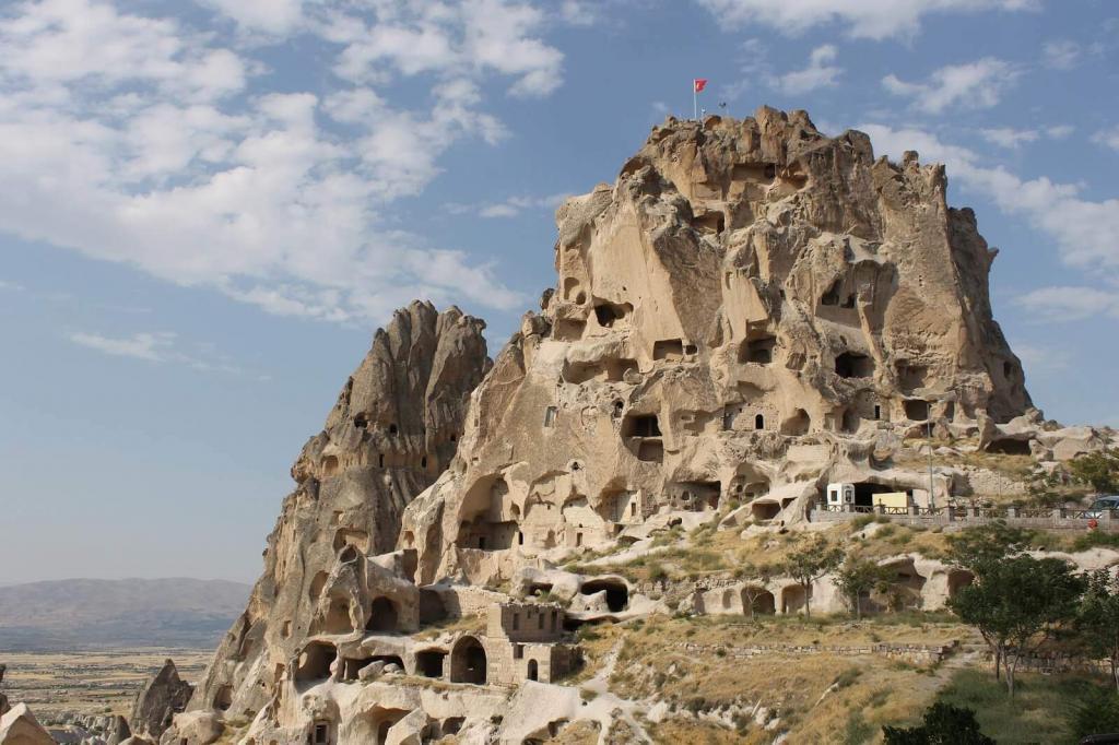 Uchisar Castle Cappadocia