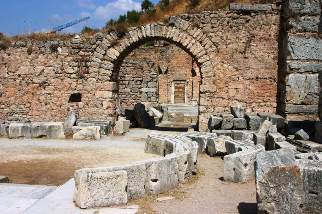 Ephesus Ancient City Bath