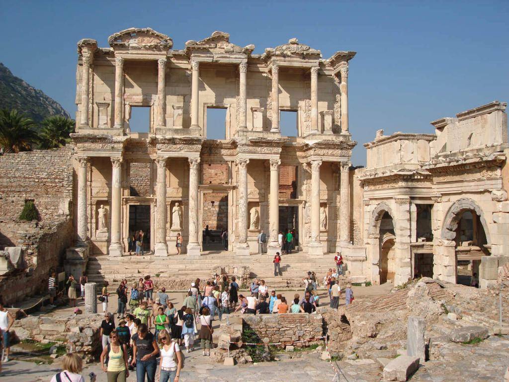 Ephesus Ancient City Celcus Library