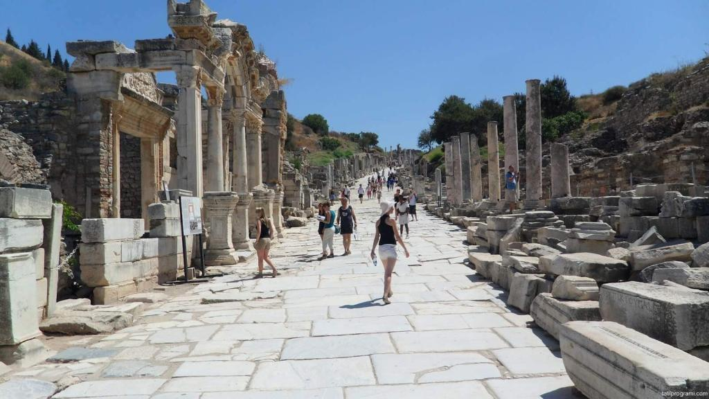 Ephesus Ancient City Street