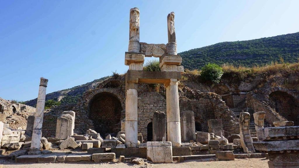 Ephesus Ancient City Temple
