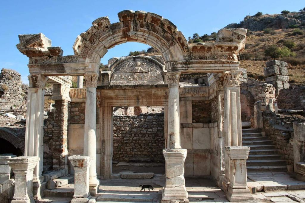 Ephesus Ancient City Hadrianus Temple