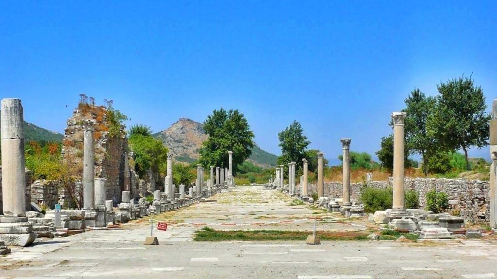 Ephesus Ancient City Harbour Street