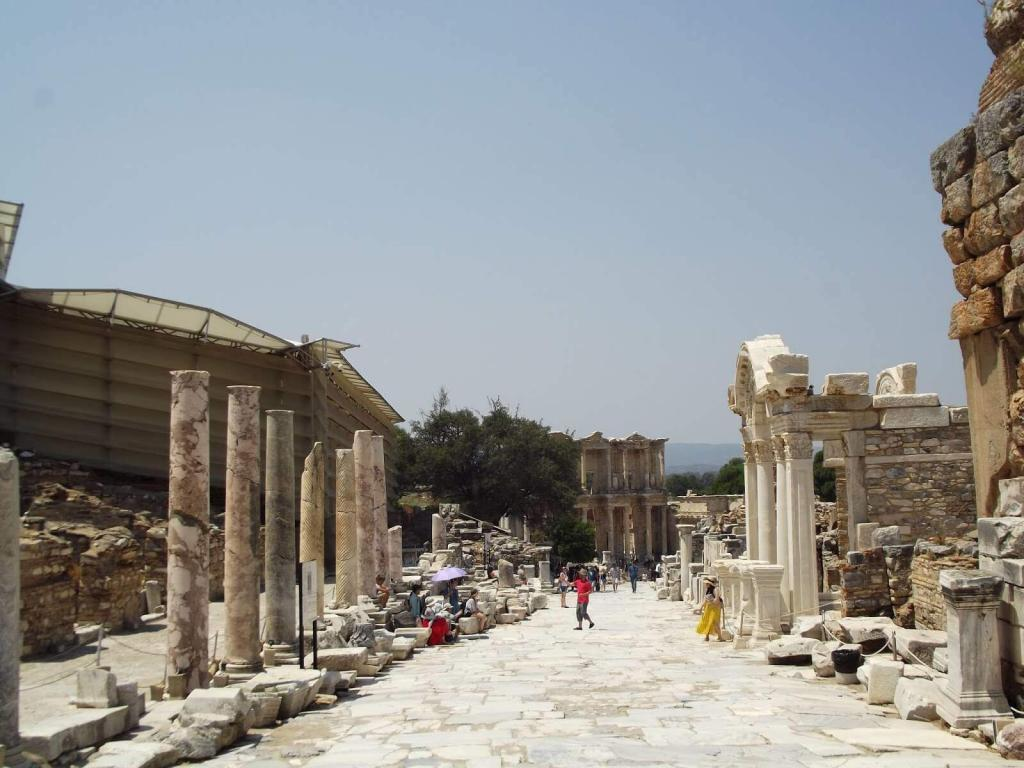 Ephesus Ancient City Marble Street
