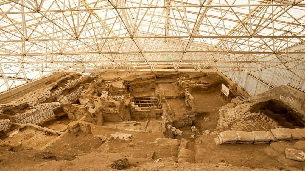 Neolithic Ancient City Catalhoyuk