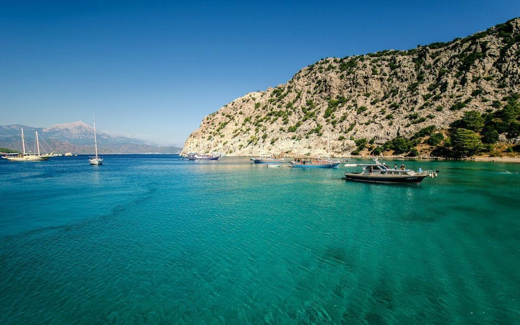 Antalya Adrasan Sea