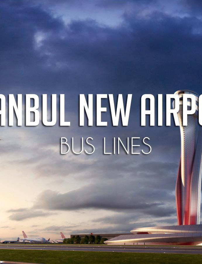 Bus Lines of Istanbul New Airport