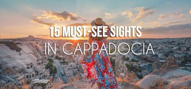 15 Sights You Should Visit in Cappadocia