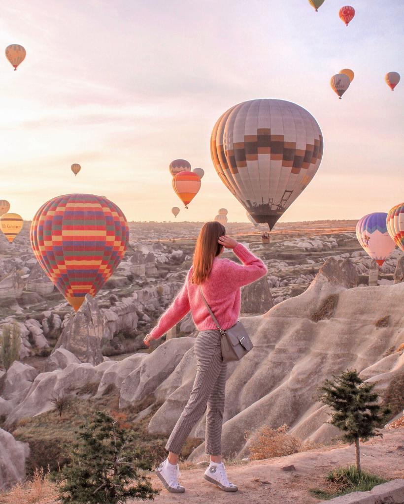 Cappadocia Hot Air Balloon Watching
