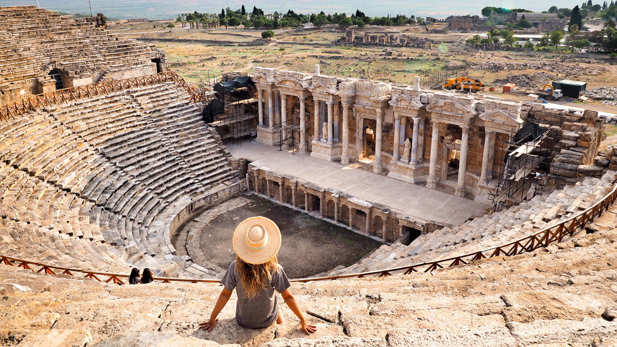 Hierapolis Ancient City, Denizli - Turkey