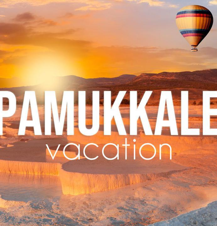 Vacation in Pamukkale, Turkey