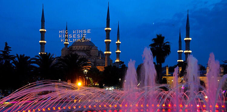 Ramadan in turkey