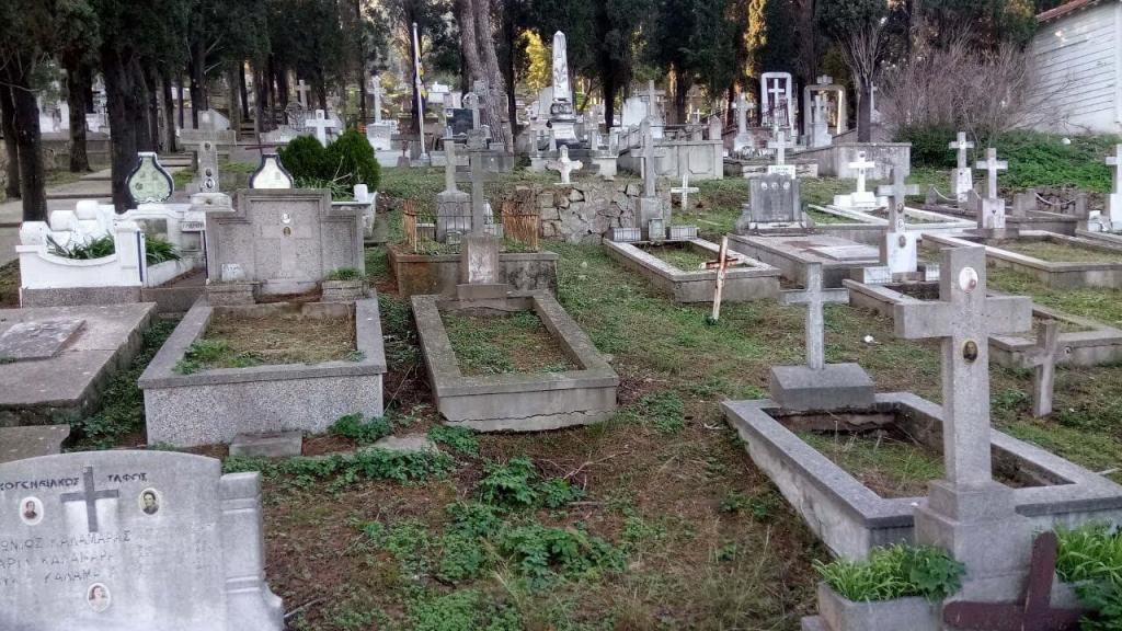 Greek Orthodox Cemetery - Big Island
