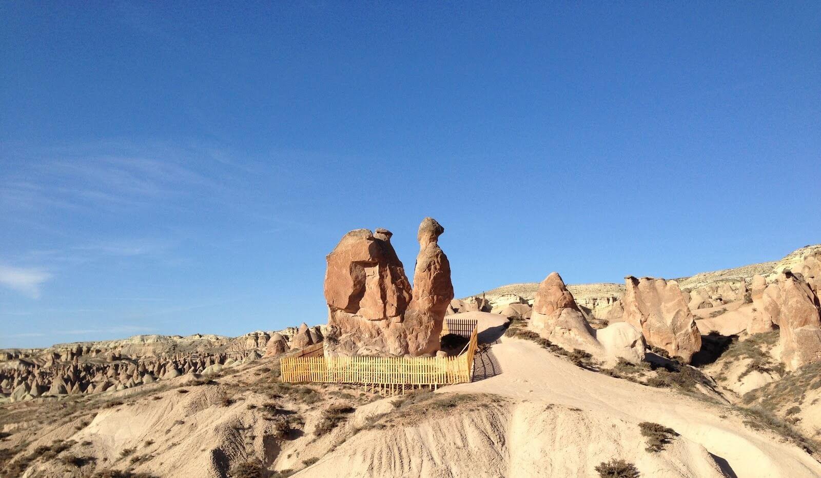 Camel Rock in Devrent Valley / Cappadocia