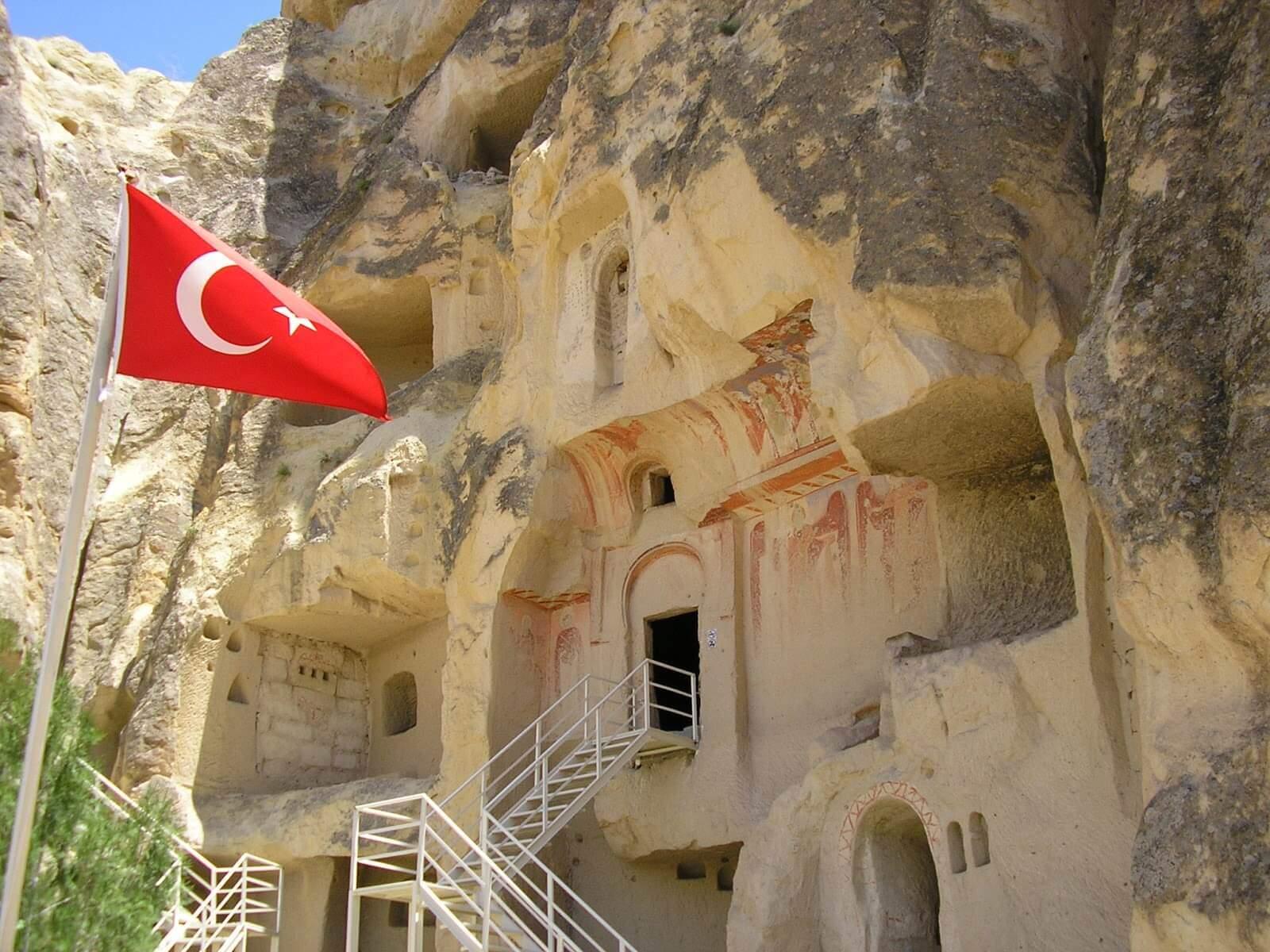 Cavusin Church in Cappadocia