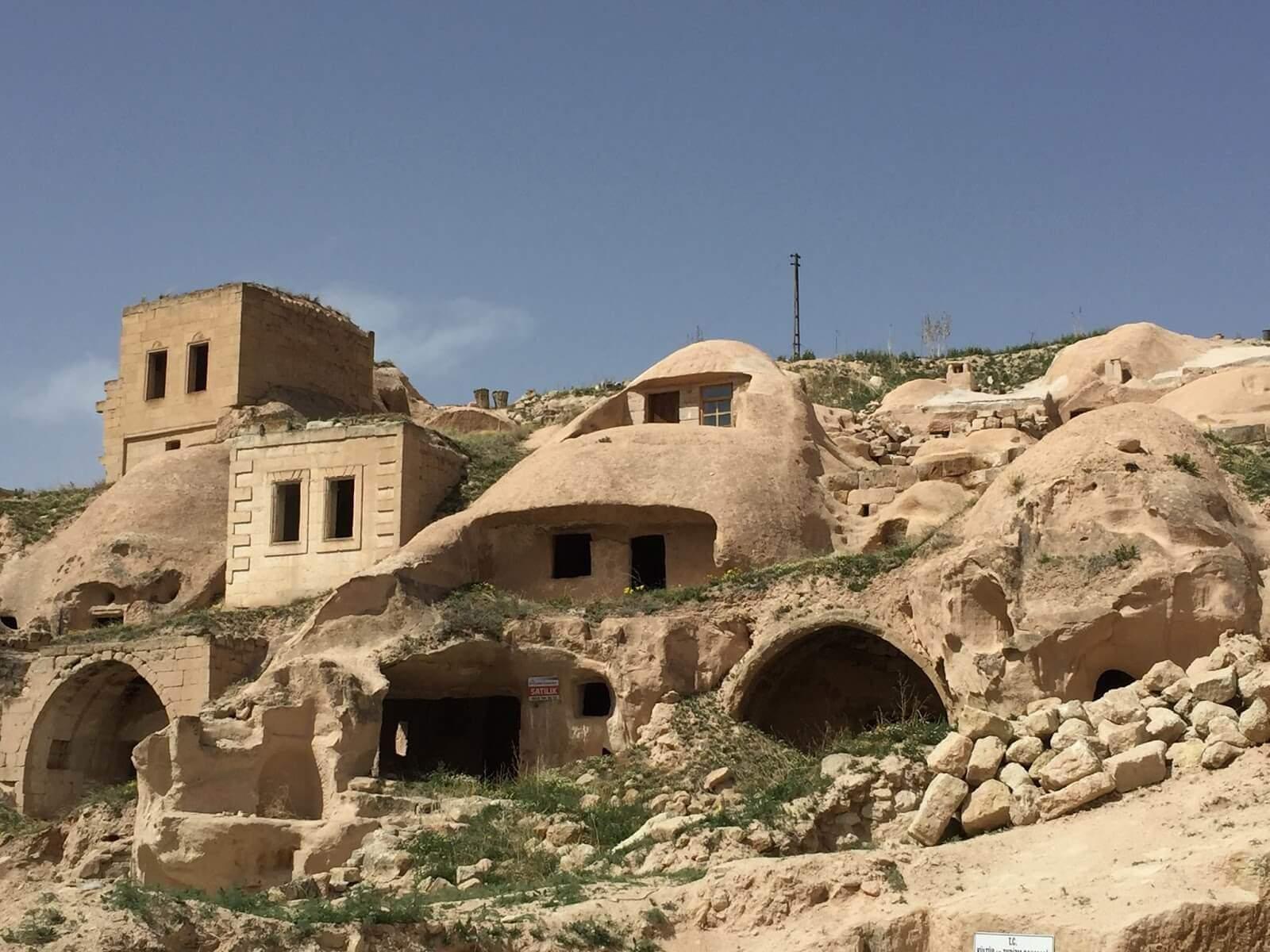 Cavusin Village in Cappadocia
