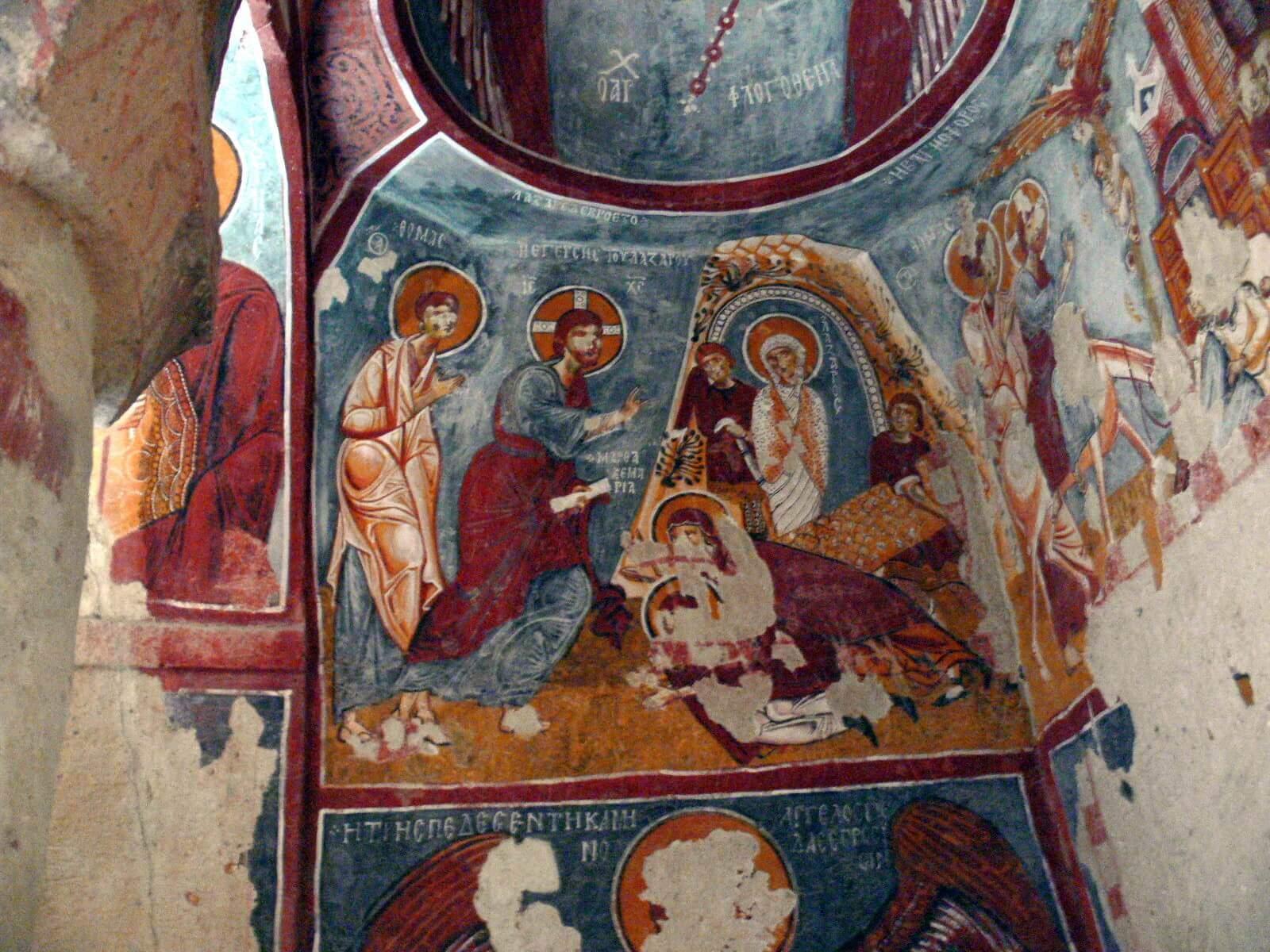 Elmali Church Dark Church / Goreme Open Air Museum
