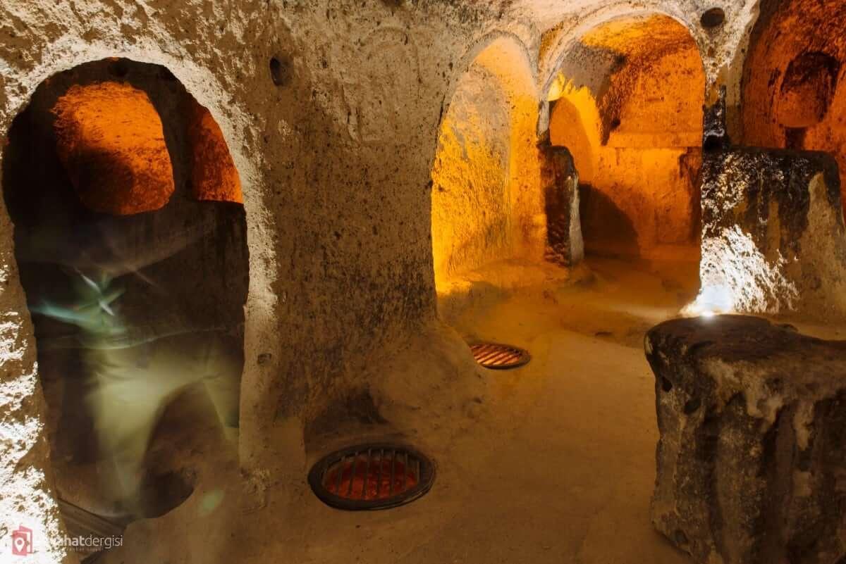 Kaymaklı Underground City / Cappadocia