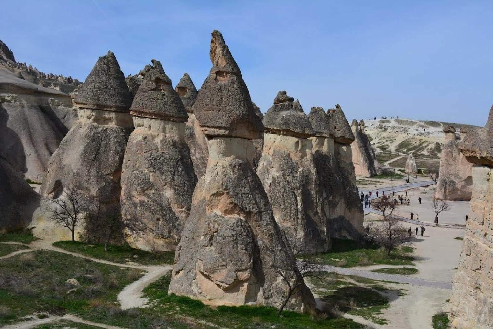 Fairy Chimneys in Paşabağı (Priests) Valley - Cappadocia