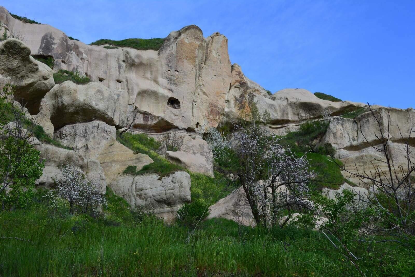 Голубиная долина (Güvercinlik Vadisi) в Каппадокии Голубиные долины Каппадокии Голубиные долины Каппадокии Pigeon Valley Cappadocia 3