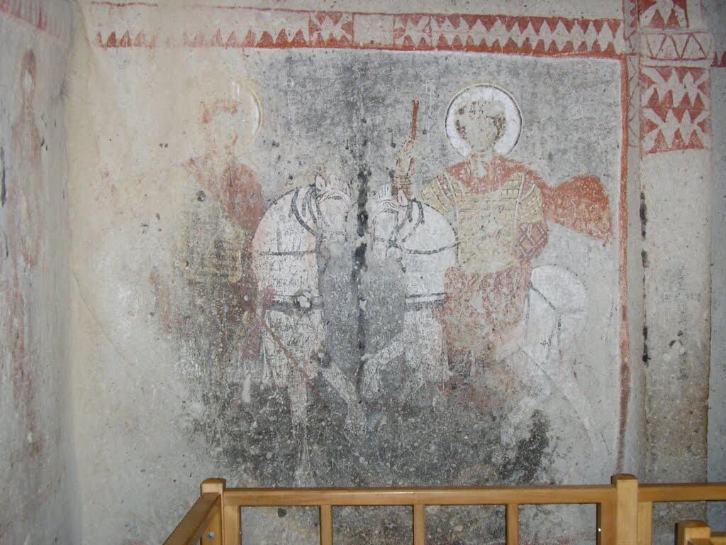 Saint Barbara Chapel Goreme Museum