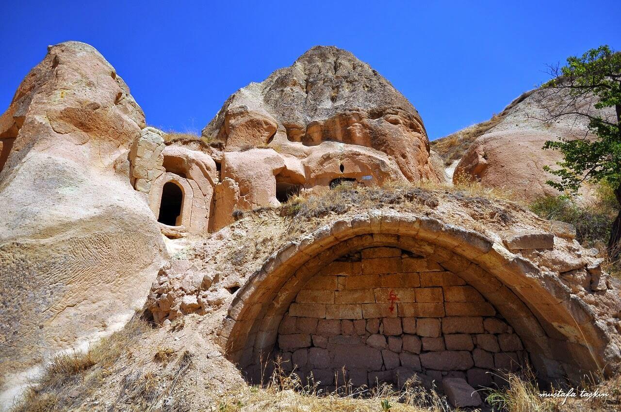 Vaftizci Yahya Church in Cavusin / Cappadocia