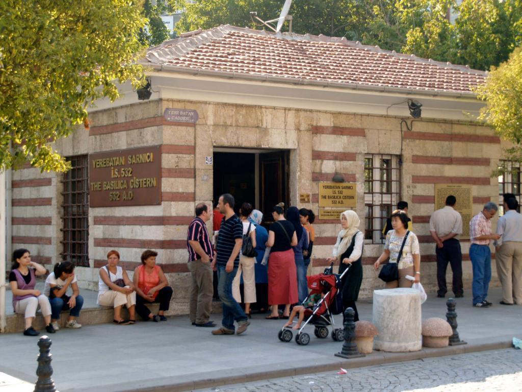 Basilica Cistern Entrance