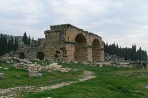 Bath and Basilica / Hierapolis Ancient City
