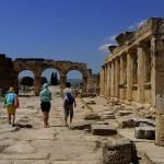 Frontinius Street / Pamukkale - Hierapolis