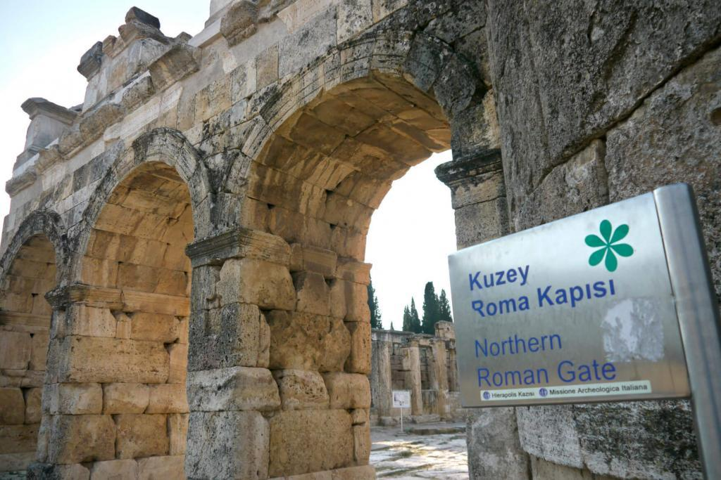 Northern Byzantine Gate / Hierapolis Ancient City - Pamukkale