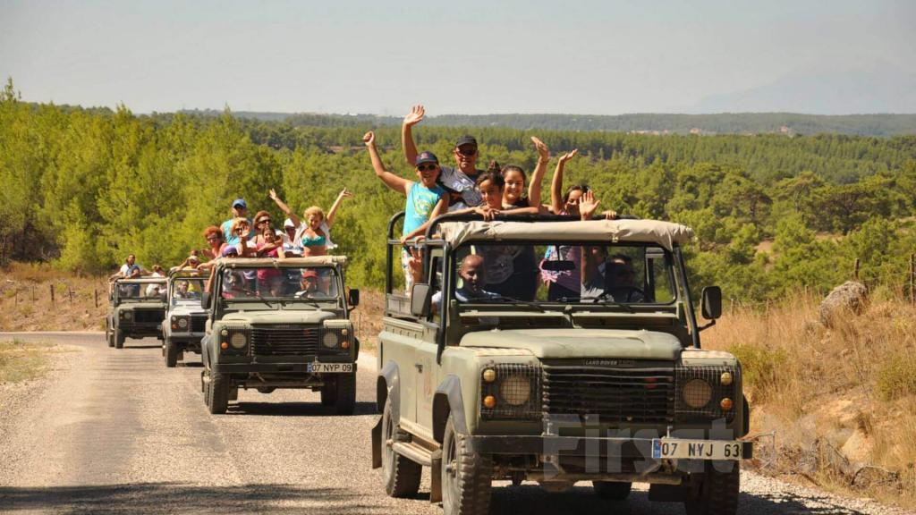 Jeep Safari in Pamukkale