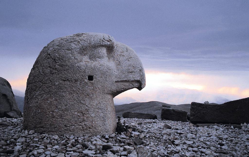 Mount Nemrut - Eagle / Adıyaman - Turkey