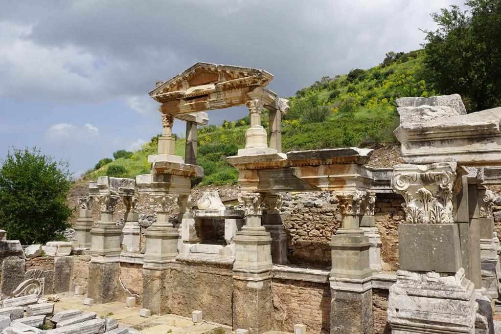 Tranius Fountain / Ephesus Ancient City