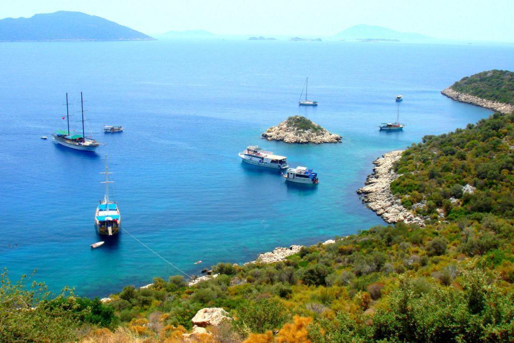 Cukurbag Peninsula Kas Antalya