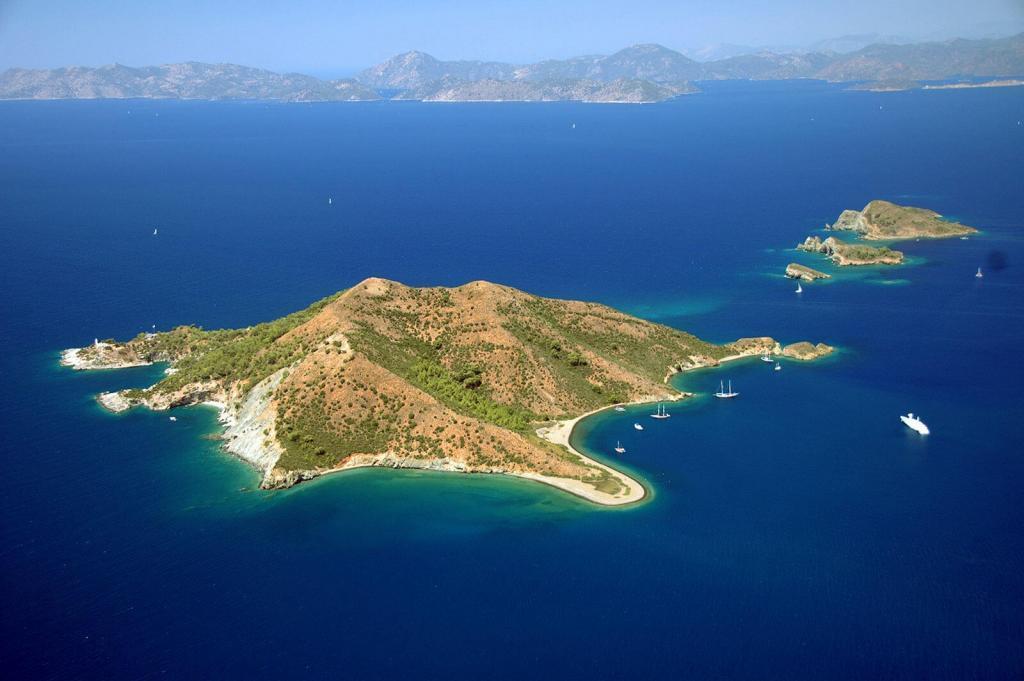 Fethiye Gemiler Island