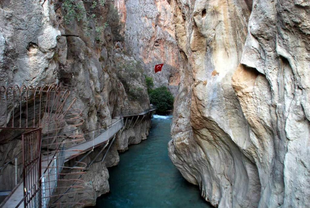 Oludeniz Fethiye Saklikent Canyon