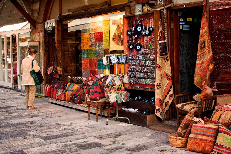 Arasta Bazaar in Sultanahemt