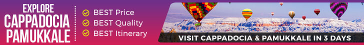 3 Days Cappadocia and Pamukkale Tour