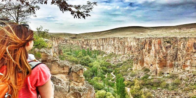 Ihlara Valley in Cappadocia Region