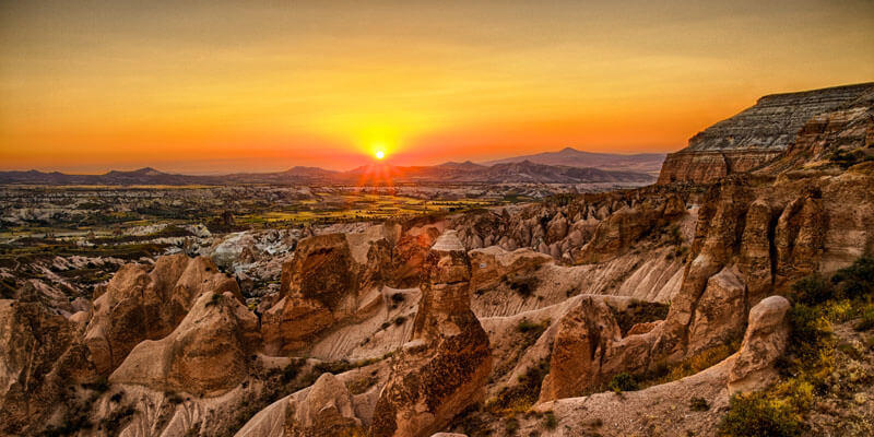 Red Valley in Cappadocia on Blue tour.