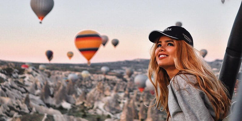 Cappadocia Package Tour Including Balloon Flight
