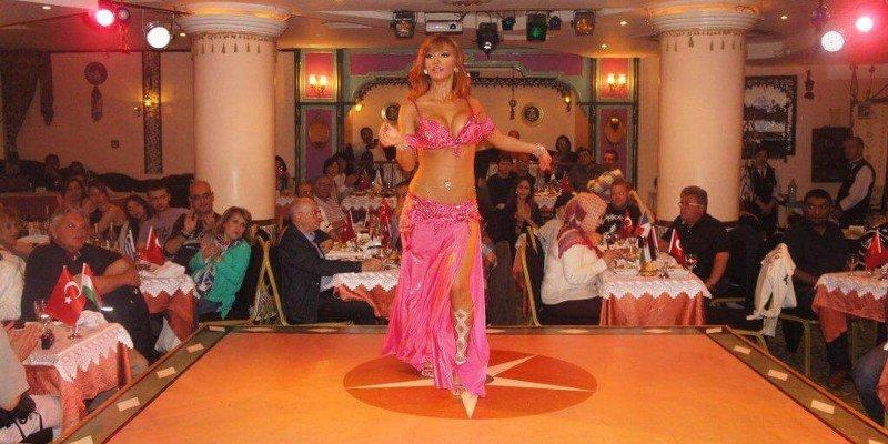 Turkish Night Show at the Restaurant