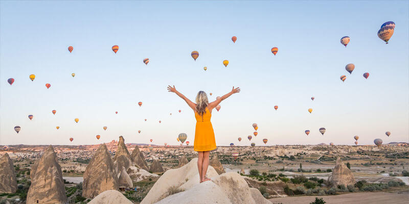 6 Days the best selling Turkey tour package from Istanbul