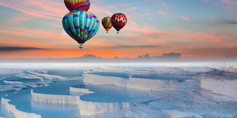 Hot Air Balloon Flights in Pamukkale