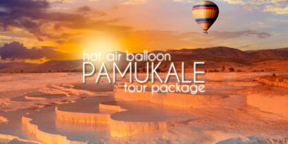 2 Days Pamukkale Tour from Istanbul with Balloon Flight