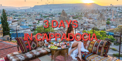 3 Days Cappadocia Tour From Istanbul (Flexible Departure)