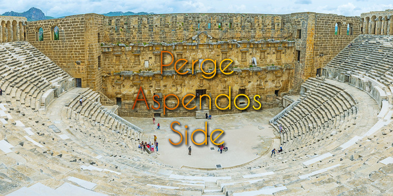 Perge, Aspendos and Side tour from Antalya